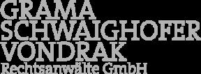 Logo Grama Schwaighofer Vondrak Rechtsanwälte GmbH